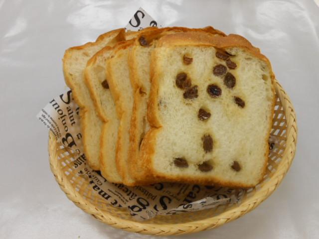 レーズン食パン ¥220